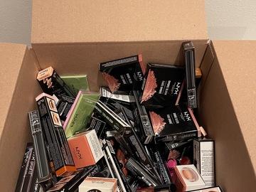 Liquidation/Wholesale Lot: 100X NYX Assorted Mixed Makeup lot