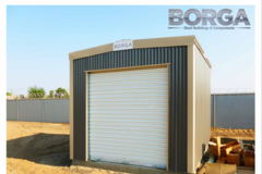 Renting out with online payment: Storage shed
