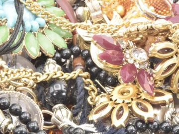 Liquidation/Wholesale Lot: 5lbs Assorted Jewelry 1 lot left!