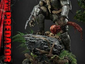Stores: Predator Estatua Big Game Cover Art Predator Deluxe Version 72 cm