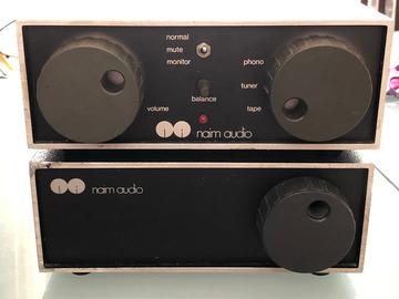 Vente: Naim audio ampli + preampli nac 42  + nap 90 bumper