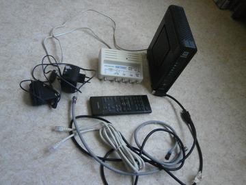 À vendre: lot matériels déclasser  modem télé attention il est codé et anci