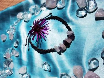 Vente au détail: Bracelet torsadé violet