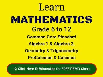 Offering with online payment: Learn Algebra 1 & 2 with AMBiPi