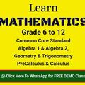 Offering without online payment: Learn TRIGONOMETRY