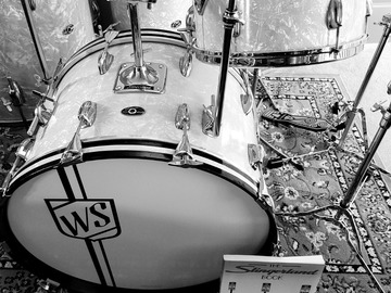 VIP Members' Sales Only: Slingerland Big Band jazz Krupa style full drum set