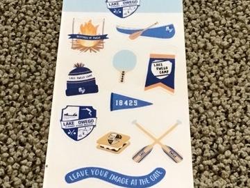 Selling A Singular Item: Lake Owego Camp Stickers
