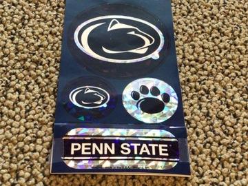 Selling A Singular Item: Penn State Prismatic Stickers