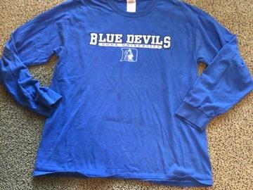 Selling A Singular Item: Duke University Long Sleeved Shirt