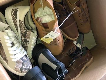 Liquidation/Wholesale Lot: Target stores brand men's shoes box lot