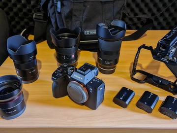 For Rent: Sony A7sIII Camera Kit