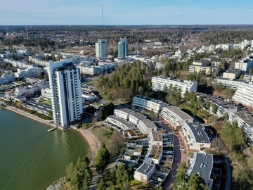 Annetaan vuokralle: 4-room furnished apartment at Espoo