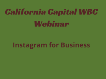 Announcement: Instagram for Business