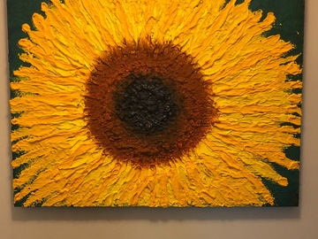 """Sell Artworks: """"Relax…Just Think of Sunflowers"""""""