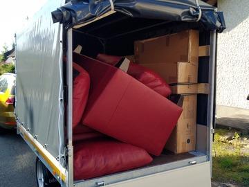 Biete Hilfe: Biete Transport von Spenden, Möbeln etc.