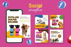 Servicio freelance: Diseño para redes sociales