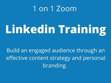 Book me to speak: 1 on 1 Zoom LinkedIn training for success