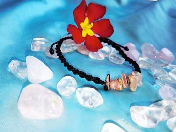 Vente au détail: Bracelet torsadé noir