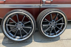 Selling: TSW Sweep W/tires BRAND NEW