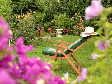 NOS JARDINS A LOUER: Le Jardin champêtre de la Maison de Clo