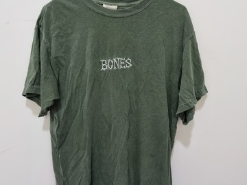 Selling with online payment: Sage Bones tee