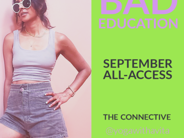 For Sale Now: Bad Education: September All-Access Live   Standard Price