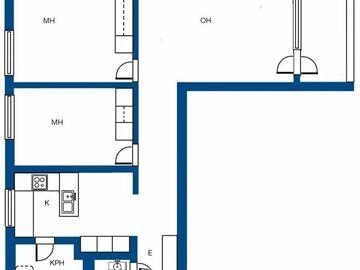 Renting out: Hissitalon asunto, 78m2, Espoon Soukassa