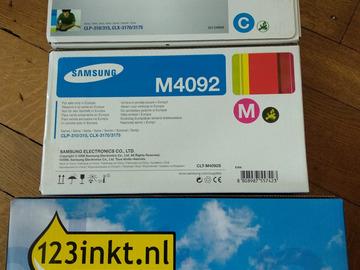 À vendre: 3 Cartouches Laser pour Samsung CLP-310