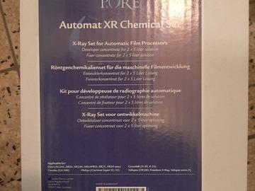 Gebruikte apparatuur: Chemicaliënset voor analoge röntgen