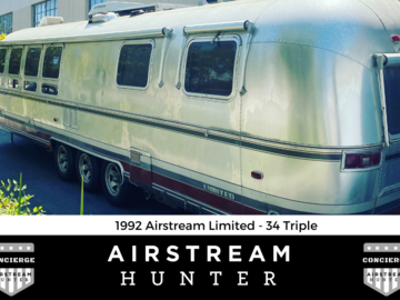 For Sale: SOLD: 1992 Airstream 34 Triple Limited - Just Listed