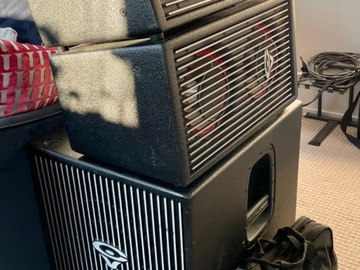 For Rent: Professional PA Speakers and Subwoofer