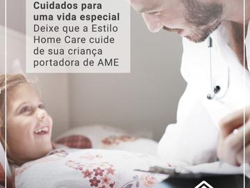Atendimento domiciliar: Tratamento Pacientes com AME