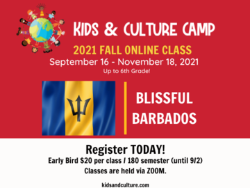 Selling with online payment: Culture Class: Blissful Barbados