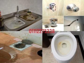 Services: tukang baiki tandas bottle trap tersumbat paip bocor 01112275338