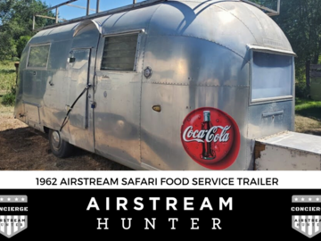 For Sale: SOLD: 1962 Airstream Food Truck Vending Trailer