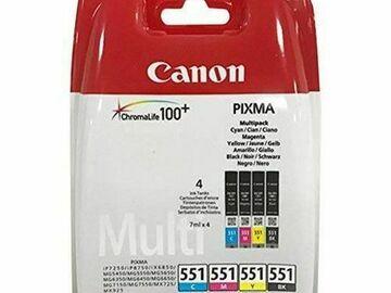 À vendre: lot de 2 (x4) cartouches Canon Pixma 7250