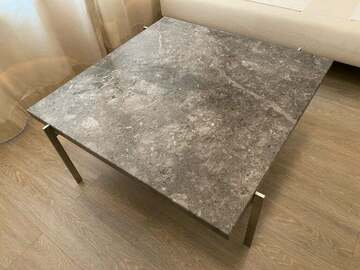 Selling with online payment: Republic of Fritz Hansen Italian marble table