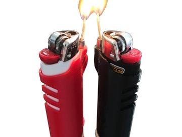 Post Now: Hemp Wick Lighter Sleeve