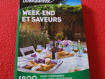 """Vente: Coffret Wonderbox """"Week-end et saveurs"""" (99,90€)"""