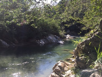 Excursion or Lesson: Hike & visit to Natural Hot Springs of Dominican moutains