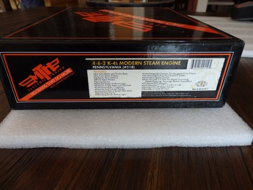 Selling with online payment: MTH HO K-4s PRR  4-6-2 Steam Loco Engine Modern