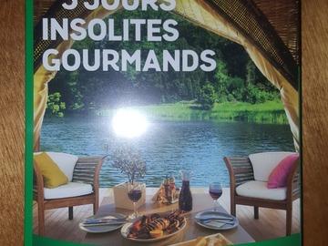 """Vente: Coffret Wonderbox """"3 jours insolites gourmands"""" (199,90€)"""