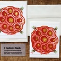 Selling with online payment: Holiday Lotus Pod Cards, Set of 2