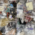 Liquidation/Wholesale Lot: 20 lbs Floor Sweepings all Jewelry Some Good Some Broken