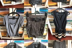 Selling without online payment: 9 pcs: jackets, skirts, dress, pants, top never worn
