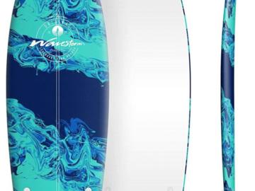 For Rent: Wavestorm 5ft8 Modern Retro Fish Surfboard