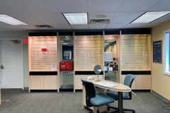 Selling with online payment: Eye Designs Frame Cabinets and Dispensing Tables