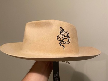 Selling with online payment: Snake fedora (Large)