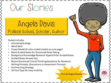 Selling with online payment: Our Stories: Angela Davis