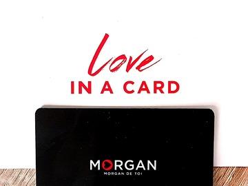Vente: Carte cadeau Morgan (70€)